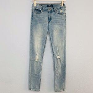 Lucky Brooke Legging Jeans 4/27 Skinny Ripped